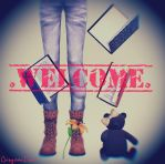 .WELCOME. by OregamiDes