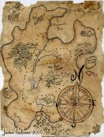 Treasure Map Project by jackieocean