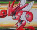 Scizor - Agility by TheSonoftheDarkness