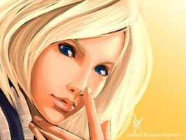 Speed Painting - Ashe by charlestanart