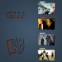The CW+The WB Folder Icon Pack by Kliesen
