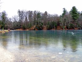 Fuller Lake In Winter 03 by TemariAtaje