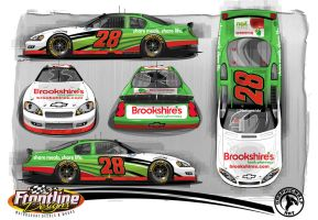 2010 no28 Brookshire Chevy by graphicwolf