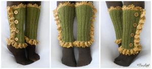Elven Forest Leg Warmers by BaziKotek