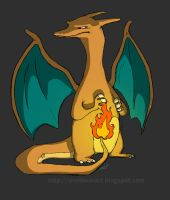 Charizard by sketchinthoughts