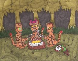 Jungle Smores by weirdwolfoflondon