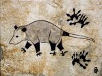 Prehistoric Style Opossum painting by RobertMeyer