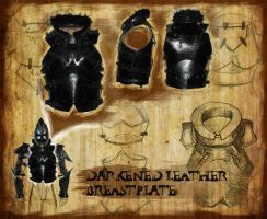 Leather Armor: Breastplate by NadrojWobrek