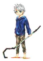 Jack Frost: Rise of The Guardians by dobe15