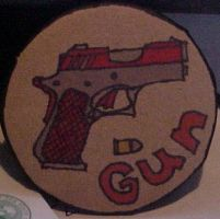 Gun pin by The----Ghost
