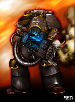Havoc Iron Warrior by Nadiel