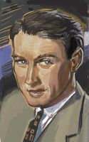 James Stewart stamp by Chevic