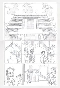 Page 1 (Pencils) by YoteMan