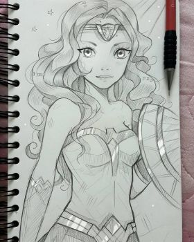 +Wonder Woman+ by larienne