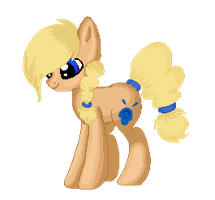 Commission: Hoofsplatter Animated Doll by Pinipy