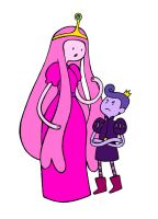 Princess Bubblegum and the Baron of Taffy by KickMePlease
