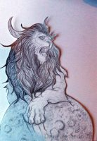 Lion by Ernelle