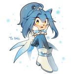 Yuki the hedgehog by Hanybe