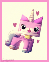 Unikitty by cappydarn