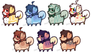 [open - set price] pups by fancyfries