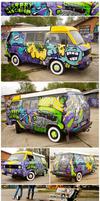 Mystery Machine by The-Kiwie