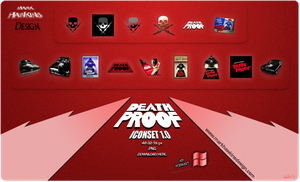 Death Proof Icons XP by scartissuemark