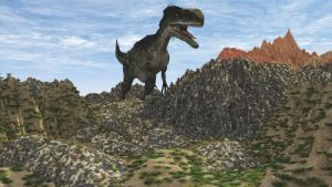Monolophosaurus by fractal2cry