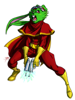 Bucky O'Hare by FooRay