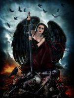 Avenging Angel by EstherPuche-Art