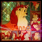 ( Balto ) Jenna Collage by KrazyKari