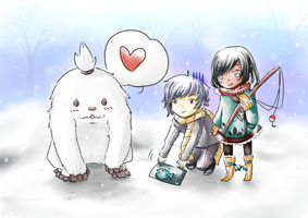 PoP: Winter Event Lost in the woods Collab by YenKin