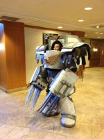 Warhammer Legion Armor Cosplay by MLP-Silver-Quill