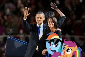 Obama's Still Number One by RicRobinCagnaan