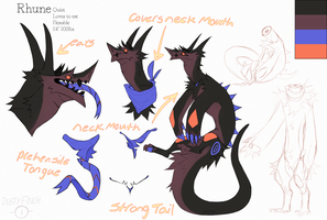Rhune reference (sold) by Dusty-Demon