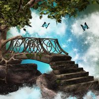 fantasy bridge by Twins72-Stocks