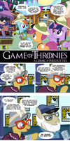 Game of Thronies Comic by PixelKitties