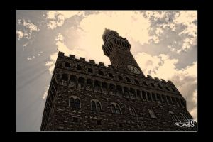 Castle tower... by archonGX
