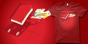 coloring book t shirt by biotwist