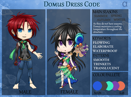 RC: Domus Dress Code by happyfayes