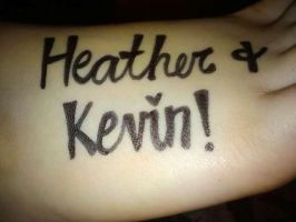 kevin and me by heatherrene1993