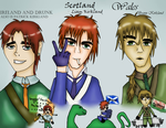 Beer, kilts, and fairys by BlackWingedOutsider