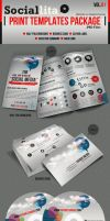 Sociallita Print Templates Package Vol.01 by kh2838