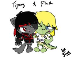 :Gift: Tifany and Flash by Invader-Zim-Fever