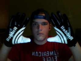 Me and my New Gloves by Jae500
