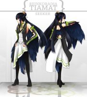 SSoS: Uniformed Tiamat by DragonfaeryYume