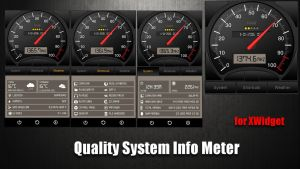Quality System Info Meter for xwidget by jimking