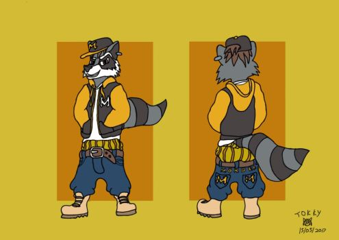 Meet Mitch the Bully by Wedgie-Fox