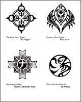 Vesperia Town Crests - Part 3 by fishytasty