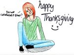 BELATED THANKSGIVING by PsychoLornie