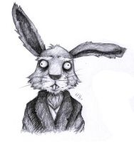 AiW: Paranoid Hare by Vanilca